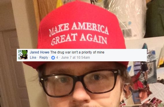"""Rise of the Anarcho-Statists Part II: Jared """"The Drug War Isn't a Priority of Mine""""Howe"""